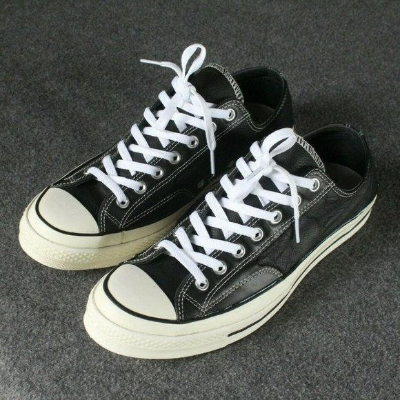 Converse Other - Converse All Star Chuck 70s Low Black Leather Ox